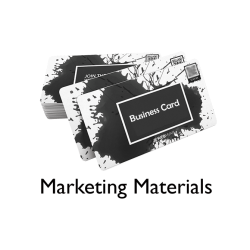 Marketing Material Service Booking