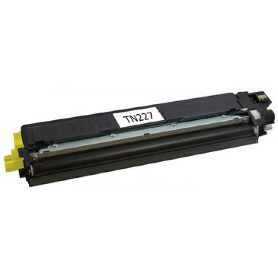 Compatible Brother TN227 Yellow Toner
