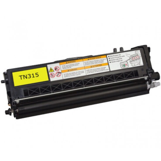 Compatible Brother TN315 Yellow Toner