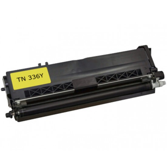Compatible Brother TN336 Yellow Toner