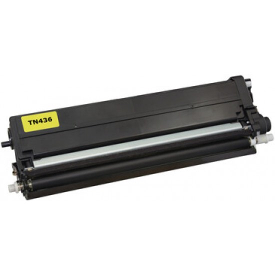 Compatible Brother TN436 Yellow Toner