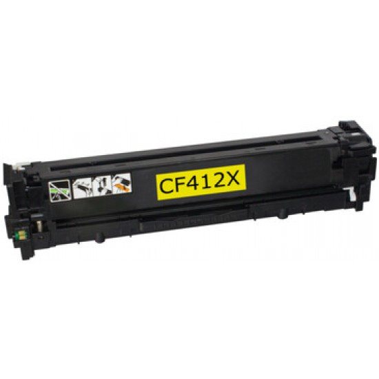 Compatible HP 410X Yellow