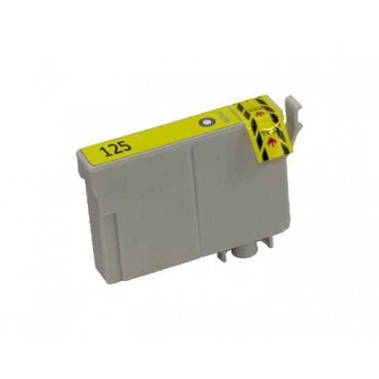 Compatible EPSON 125 Yellow